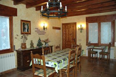 Cocina Casa Rural el Colorao