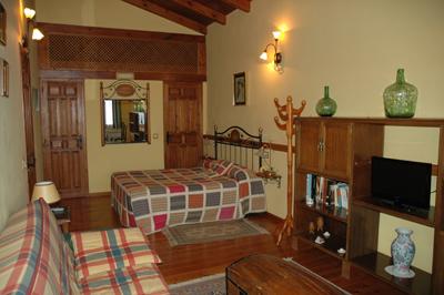 Habitación Suite El Desván Casa Rural el Colorao