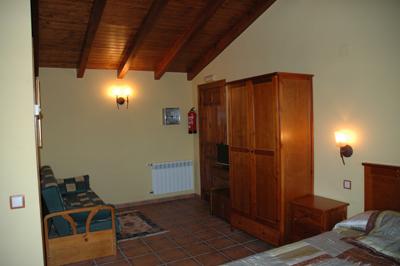 Habitación Suite El Palomar Casa Rural el Colorao