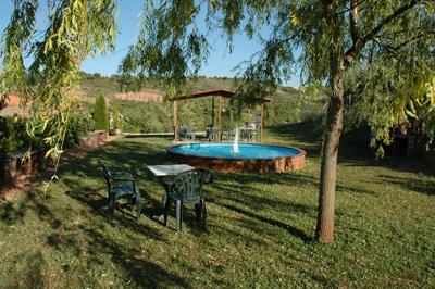 Jardin Casa Rural el Colorao