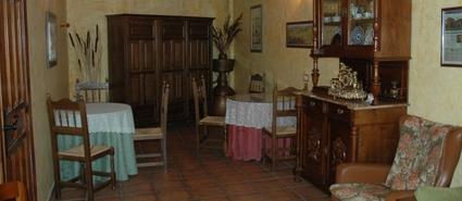 Salón casa rural rioja